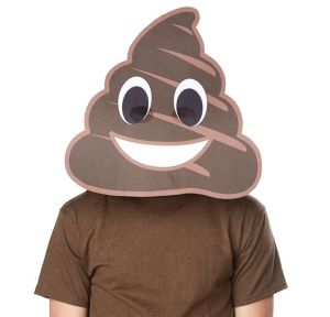 Adult Poop Icon Mask