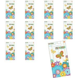 Jumbo Flowers Stickers 24ct