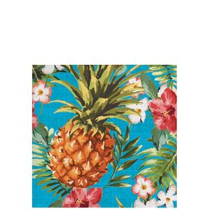 Aloha Hawaiian Beverage Napkins 16ct