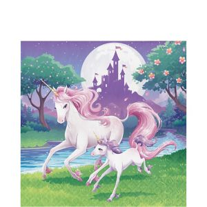 Unicorn Lunch Napkins 16ct