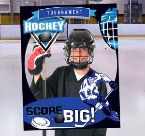 Sports Frame Photo Prop--Hockey