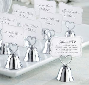 Kissing Bell Place Card Holders 24ct