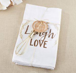 Live, Laugh, Love Towel & Whisk