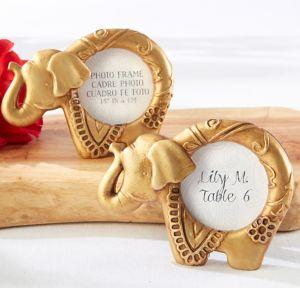 Gold Lucky Elephant Frame