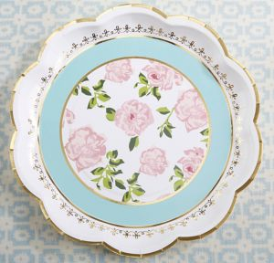 Tea Time Lunch Plates 8ct