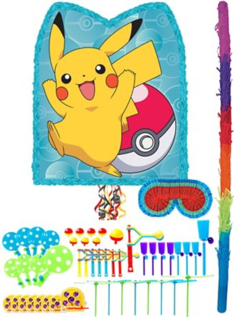 Pikachu Pinata Kit with Favors