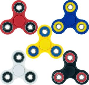 Two-Tone 3-Sided Fidget Spinner
