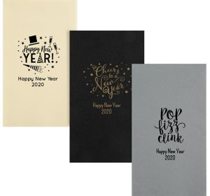 Personalized New Year's Premium Guest Towels
