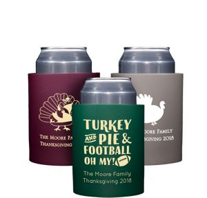 Personalized Thanksgiving Can Coozies