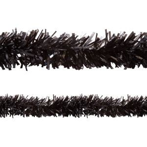 Black Twisted Fringe Garland