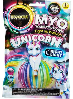 Illooms Light-Up Unicorn LED Balloon Lantern