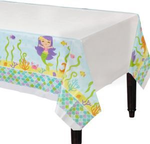 Friendly Mermaid Table Cover