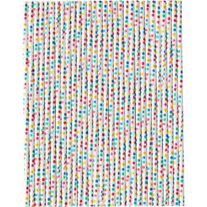 Wilton Dylan's Candy Bar Colorful Dots Treat Sticks 30ct