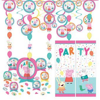 Peppa Pig Decoration Kit