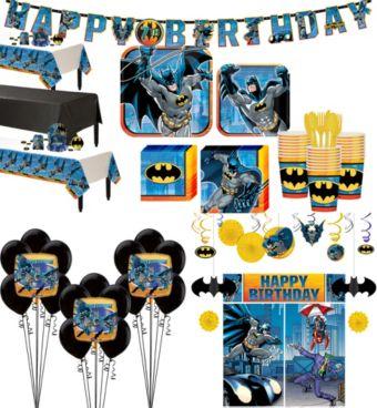 Batman Tableware Ultimate Kit for 24 Guests