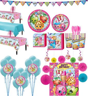 Shopkins Tableware Ultimate Kit for 24 Guests