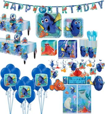 Finding Dory Tableware Ultimate Kit for 16 Guests
