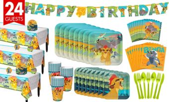 Lion Guard Tableware Party Kit for 24 Guests