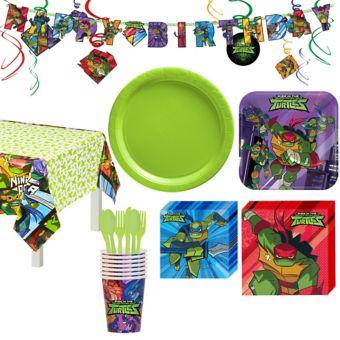 Teenage Mutant Ninja Turtles Tableware Party Kit for 8 Guests