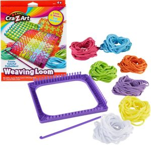 Cra-Z-Art Weaving Loom Craft Kit 168pc