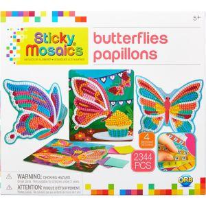 Butterfly Sticky Mosaic Craft Kit 2408pc