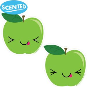 Jumbo Smickers Sour Apple Scratch & Sniff Stickers 2ct