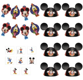 Mickey Mouse Roadster Favor Kit