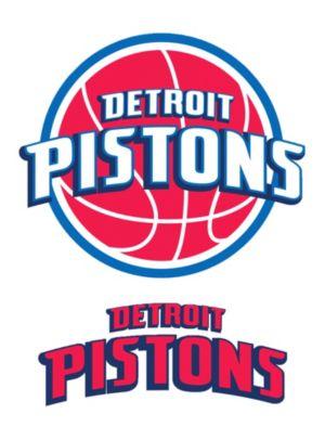 Detroit Pistons Decals 5ct