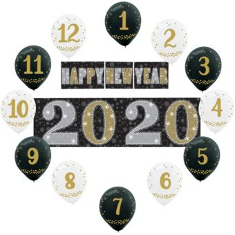 Countdown New Year's Decorating Kit