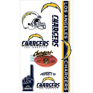 Los Angeles Chargers Tattoos 7ct