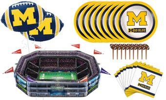 Sunny Anderson's Infladium: Michigan Wolverines Snack Stadium Kit