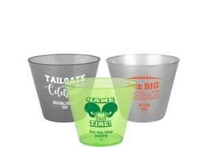 Personalized Football Hard Plastic Cups 9oz