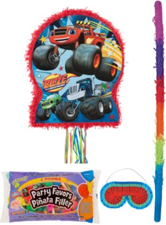 Blaze and the Monster Machines Pinata Kit with Candy & Favors