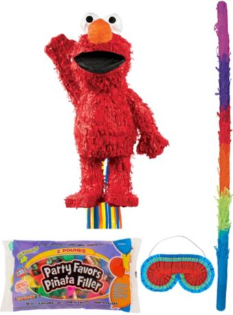 Elmo Pinata Kit with Candy & Favors
