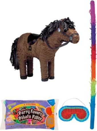 Horse Pinata Kit with Candy & Favors