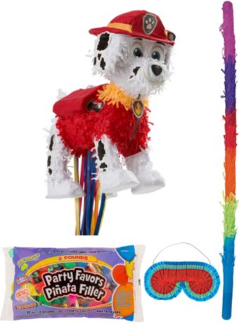 Marshall Pinata Kit with Candy & Favors - PAW Patrol