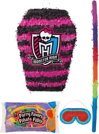 Monster High Pinata Kit with Candy & Favors