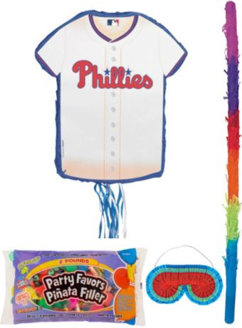 Philadelphia Phillies Pinata Kit with Candy & Favors