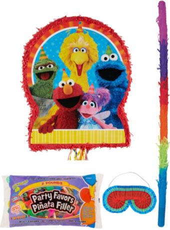 Sesame Street Pinata Kit with Candy & Favors
