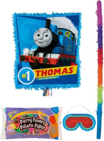 Thomas the Tank Engine Pinata Kit with Candy & Favors