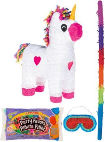 Unicorn Pinata Kit with Candy & Favors