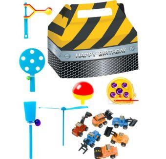 Construction Basic Favor Kit for 8 Guests