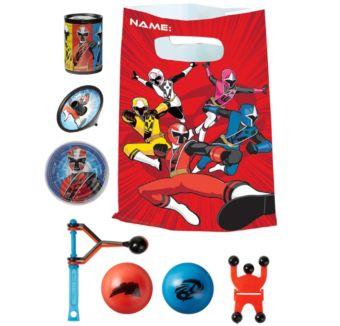 Power Rangers Ninja Steel Basic Favor Kit for 8 Guests