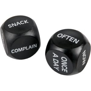 Over the Hill Daily Decision Dice
