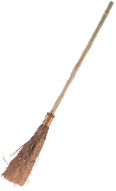 Classic Witch Broom 38in