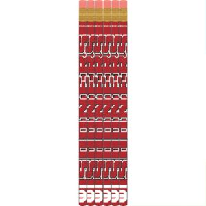 Oklahoma Sooners Pencils 6ct