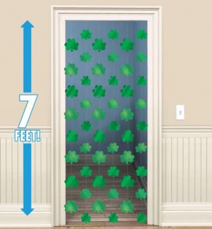 Shamrock String Decorations 6ct