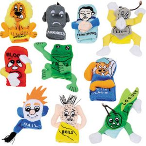 Passover Finger Puppets 10pc