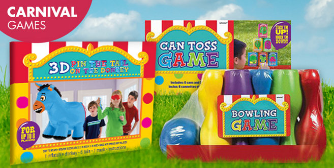 carnival games - carnival party supplies