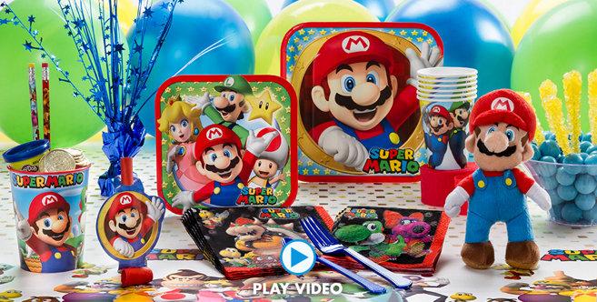 Super Mario Party Supplies Super Mario Birthday Party